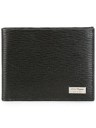 Salvatore Ferragamo textured billfold wallet - Brown