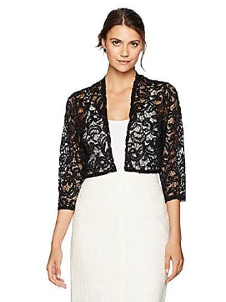 646a78b87bc18 R M Richards Womens 1 Piece Missy Size Laced Shrug with Glitter