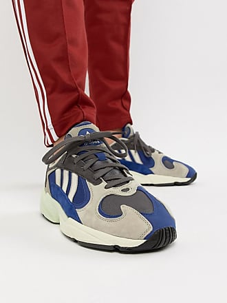 factory authentic 30412 d9e9b adidas Originals Yung-1 Sneakers in Grey Multi - Beige
