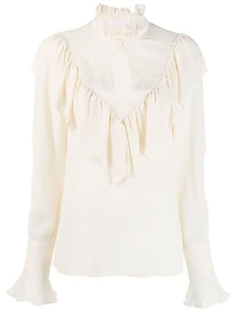See By Chloé victorian blouse - Branco
