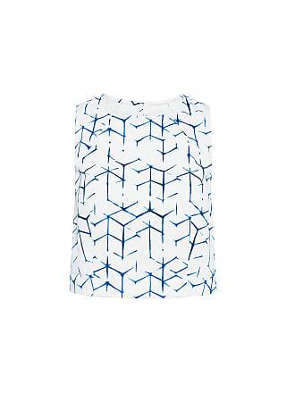 3x1 Shibori Print Crop Top Shibori Print