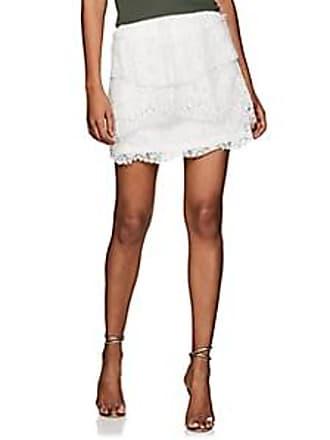 Iro Womens Pixy Cotton-Blend Lace Miniskirt - White Size 36