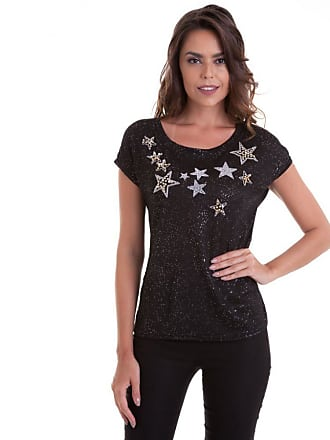 Kinara Camiseta Linha Aplicação Estrela - P
