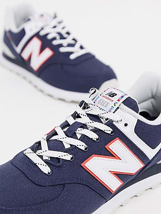New Balance 574 - Marineblaue Sneaker-Navy