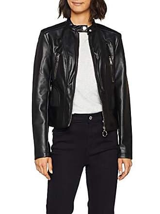 Guess Giubbotti Fortuna Jacket, Manteau Femme, Noir (Jet Black A996 Jblk), f0dfb082bb8