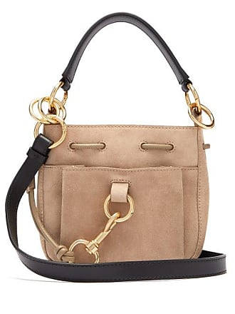 166ed0d17203a See By Chloé Sac seau en daim Tony small