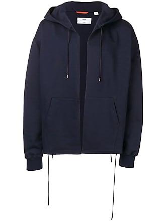 OAMC plain zip hoodie - Blue