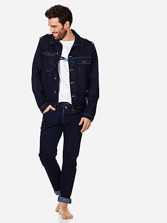 Vilebrequin Men Ready to Wear - Men Denim Tracker Jacket - JACKET - LOUIBLAN - Blue - XL - Vilebrequin