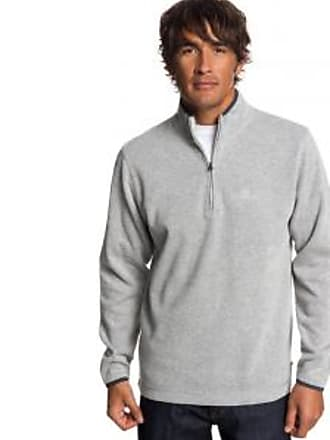 Quiksilver Mens Dead Break Quarter Zip Sweatshirt