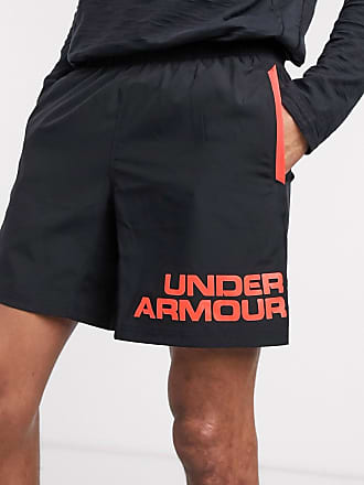 Under Armour Running Speed - Shorts mit Schwarz und Rot
