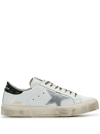 Golden Goose low top trainers - White
