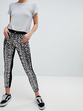 Parisian Skinny Festival Jeans in Sequins - Black