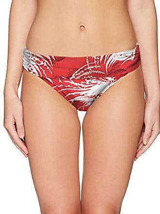 3acdfc672d La Blanca Womens Shirred Band Hipster Bikini Swimsuit Bottom, Flame Bold  Orange Go Hombre,