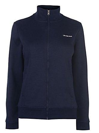 087737ada911a5 L.A. Gear Damen Zip Reißverschluss Fleece Strickjacke Marineblau UK 18 (XXL)