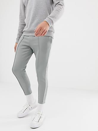 e3b763a71f8773 Only   Sons Pantalon de jogging slim avec bande sur le côté et cheville ...