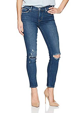 Hudson Womens Tally Midrise Skinny Crop 5 Pocket Jean, Imperial, 32