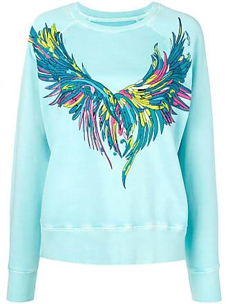 Zadig & Voltaire Overdyed Wings sweatshirt - Blue