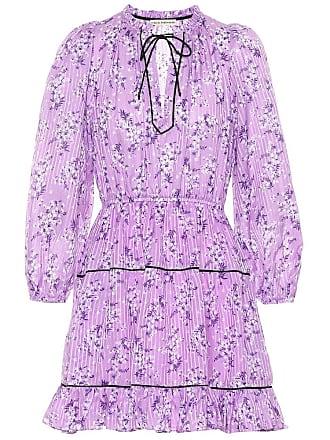Ulla Johnson Brienne printed cotton and silk dress