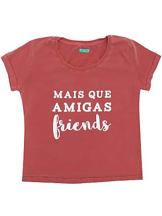 Bisi Blusa Bisi Friends Vermelha