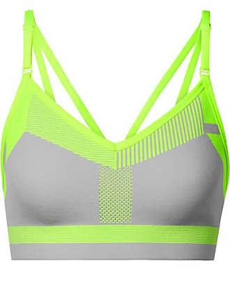 Nike Brassière De Sport En Flyknit Fluo Indy - Gris clair b60db0dd27e