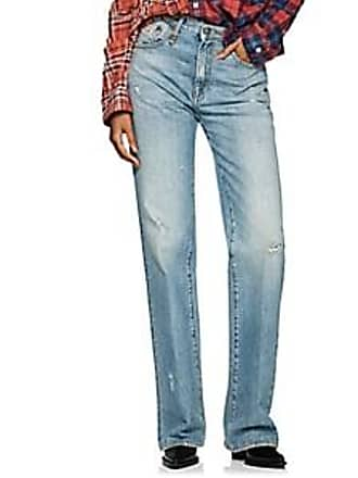 R13 Womens Colleen High-Rise Boot-Cut Jeans - Blue Size 24