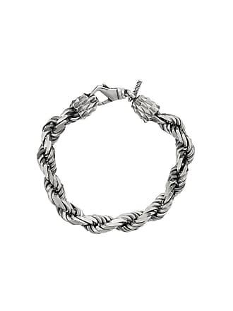 Emanuele Bicocchi chain-link bracelet - Prateado