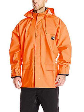 Carhartt Work in Progress Mens Big & Tall Surrey Coat,Orange,XXXX-Large