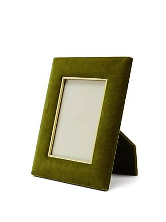 Aerin Valentina Large Velvet Photo Frame - Dark Green