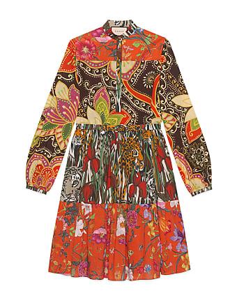 2ea91249d3d3 Gucci Abito con stampa patchwork