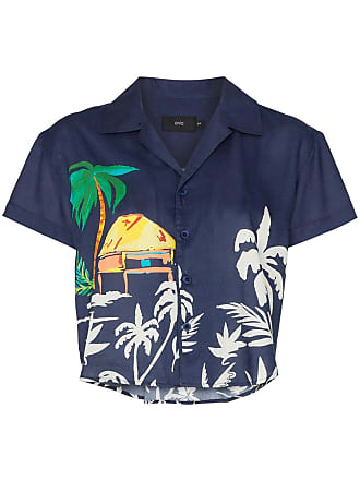 Onia celeste paradise hut shirt - Blue