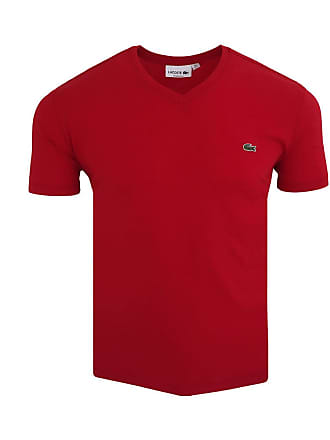 dcbd1cb603c85 T-Shirts Col V Lacoste®   Achetez jusqu à −36%   Stylight