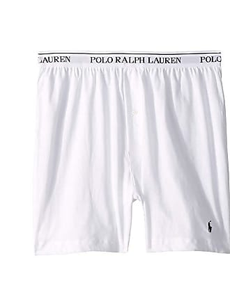 Polo Ralph Lauren Classic Fit W Wicking 3 Pack Knit Boxers White