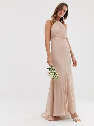 cde8f578afa Asos Bridesmaid pinny bodice maxi dress with fishtail skirt - Gray