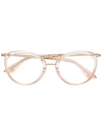 Emmanuelle Khanh round frame glasses - Neutro