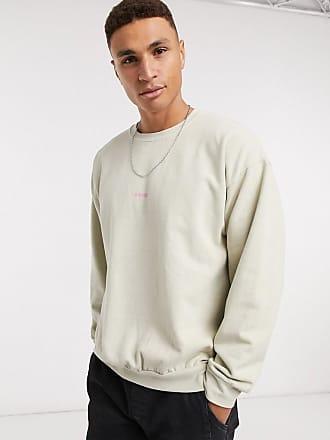 Topman Soho - Sweatshirt in Stone