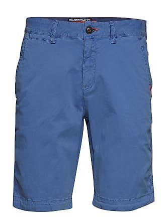 51a8186bd4ac Superdry International Slim Chino Lite Short Bermudashorts Shorts Blå  SUPERDRY