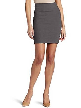 Only Hearts Womens Double Knit Mid Thigh Pencil Skirt, Pavement Large