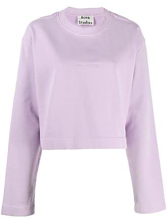 Acne Studios Odice Emboss sweatshirt - Roxo