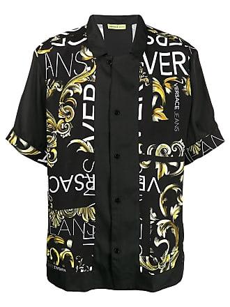 Versace Jeans Couture Camisa com estampa barroca - Preto