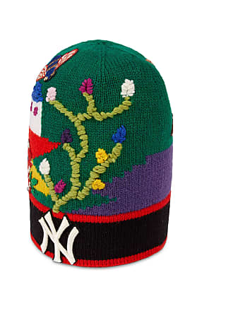5fb5a23d Gucci Mütze aus Wolle mit New York Yankees-Stickerei