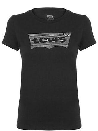 Levi's Camiseta Estampada Levis Womens - Preto