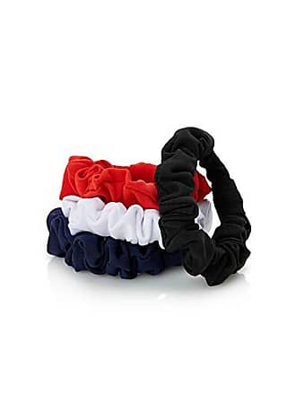 Simons Solid jersey scrunchies Set of 4