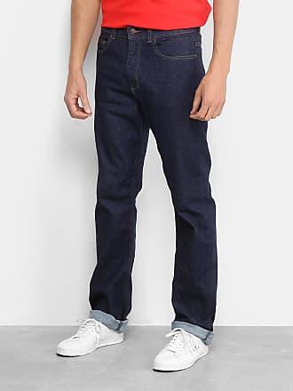 763ff7997c5 Lacoste Calça Jeans Reta Lacoste Lisa Masculina - Masculino