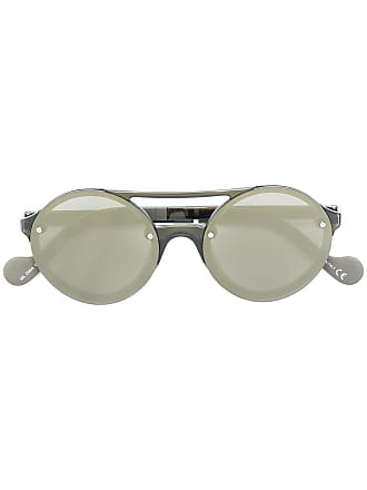 Moncler Óculos de sol arredondado - Preto