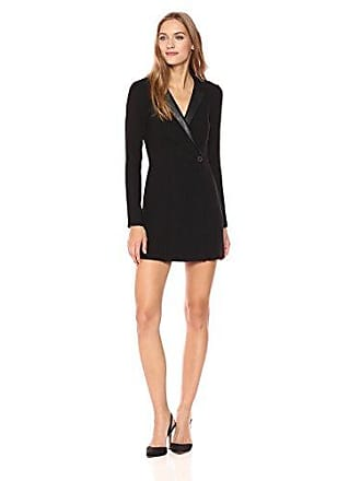 BCBGeneration Womens Blazer Dress, Black, 6