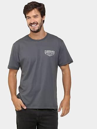 6b6ed0de0c624 Quiksilver Camiseta Quiksilver Básica Midnight - Chumbo - P