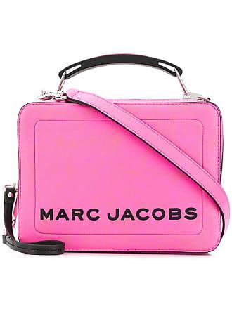 Marc Jacobs Bolsa tote The Box de couro - Rosa