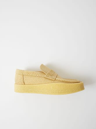 Acne Studios FN-MN-SHOE000036 Ivory white Minimal loafers