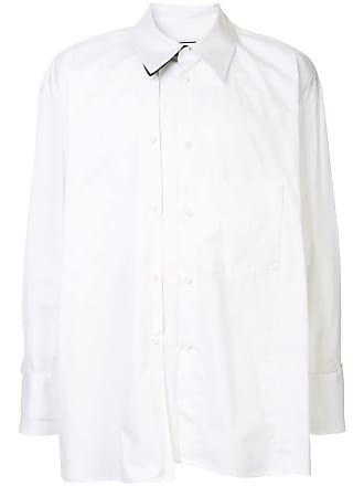 Wooyoungmi Camisa assimétrica - Branco
