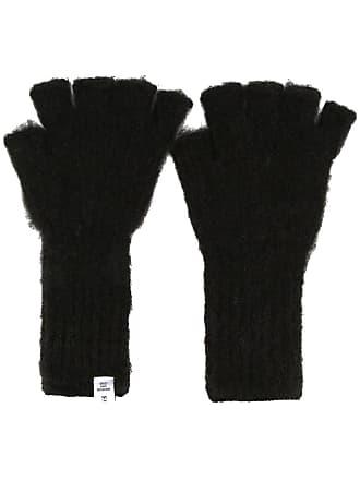 Facetasm fingerless gloves - Preto